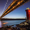 The Little Red Lighthouse by Mihai Andritoiu