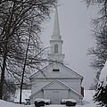 The Little White Church by Dora Sofia Caputo Photographic Design and Fine Art