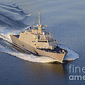 The Littoral Combat Ship by Stocktrek Images