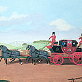 The Liverpool And London Royal Mail Coach, 1812 Oil On Canvas by James Pollard