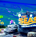 The Living Seas Signage Walt Disney World by Thomas Woolworth