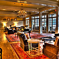 The Lobby At The Sagamore Resort by David Patterson