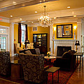 The Lobby Fireplace At The Sagamore Resort by David Patterson
