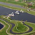 The Lock And Weir Complex Amerongen by Bram van de Biezen