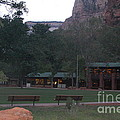 The Lodge At Zion National Park by Mari  Gates