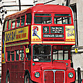 Vintage London Bus by Tom Conway
