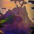 The Lone Cypress by John Malone
