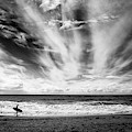 The Loneliness Of A Surfer by Lorenzo Grifantini