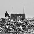 The Lonely Fisherman by Rick Kuperberg Sr