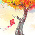 The Lonely Kite by Aniruddha Lele