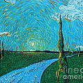 The Long Blue Road by Stefan Duncan