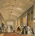 The Long Gallery At Lanhydrock by Joseph Nash