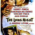 The Long Night, Us Poster, Barbara Bel by Everett