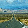 The Long Road Through Death Valley by Jens Larsen
