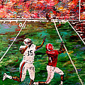 The Longest Yard - Alabama Vs Auburn Football by Mark Moore