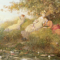 The Lotus Eaters, 1893 by Charles J Staniland