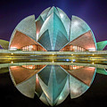 The Lotus Temple by Jiti Chadha