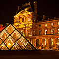 The Louvre At Night by Anthony Doudt
