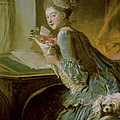 The Love Letter by Jean Honore Fragonard