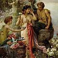 The Love Offering by Hanz Zatzka