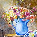 The Blue Vase  by Cynthia Farr