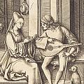 The Lute Player And The Singer by Indian Summer