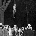 The Lynching Of A Murderer by Underwood Archives