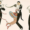 The Madness Of The Day by Georges Barbier