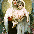 The Madonna Of The Roses by William-Adolphe Bouguereau