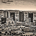 The Magic City Sepia by Ken Johnson