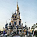 The Magic Kingdom Castle On A Beautiful Summer Day by Thomas Woolworth