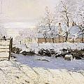 The Magpie Snow Effect by Claude Monet