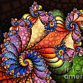 The Maharajahs New Hat-fractal Art by Karin Kuhlmann