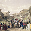 The Main Street In The Bazaar by James Atkinson