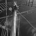 The Mainmast Of The Amazing Grace In Infrared by Jani Freimann