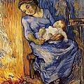 The Man Is At Sea - After Demont-breton by Vincent van Gogh