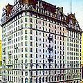 The Manhattan Hotel In New York City 1897 by Dwight Goss