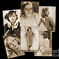 The Many Faces Of Greta Garbo by Photo Researchers