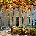 The Marble House In Autumn by Mitchell R Grosky