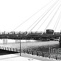 The Marine Road Bridge Southport 2 by Joan-Violet Stretch