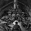 The Mariner Gazes On His Dead Companions And Laments The Curse Of His Survival While All His Fellow  by Gustave Dore
