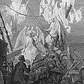 The Mariner Sees The Band Of Angelic Spirits by Gustave Dore