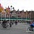 The Markt Bruges Belgium by Jason O Watson