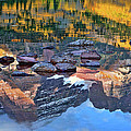 The Maroon Bells Reflected by Jim Garrison