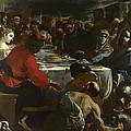 The Marriage At Cana by Mattia Preti