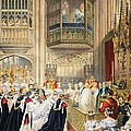 The Marriage At St Georges Chapel by English School