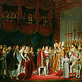 The Marriage Of Napoleon I 1769-1821 And Marie Louise 1791-1847 Archduchess Of Austria, 2nd April by Georges Rouget