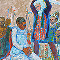 The Martydom Of St Maurice by Charles M Williams