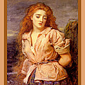 The Martyr Of The Solway Poster by John Everett Millais