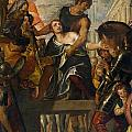 The Martyrdom Of Saint Mena by Paolo Veronese